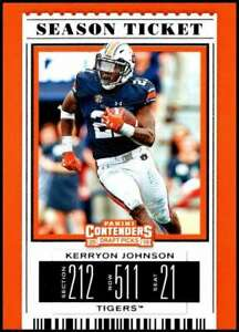 2019-Contenders-Draft-KERRYON-JOHNSON-59-season-ticket-Auburn-Tigers