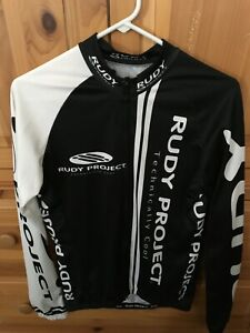 Rudy Project Cycling Jersey Long Sleeve Large - Pearl Castelli Izumi Assos Giro