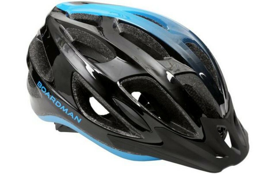 Boardman LC Bicycle 8.6 Helmet Unisex Bike Safety Cycling 20 Vents 54-58cm