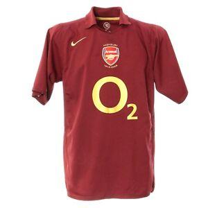 more photos 2f49b 66019 Details zu FC Arsenal Masterclass 2006 Nike Football Jersey Shirt Fußball  Trikot-M