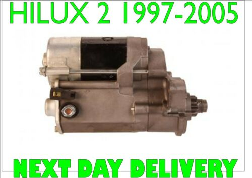 TOYOTA HILUX 2 2.4i 4WD 1997 1998 1999 2000 2001 2002 to 2005 RMFD STARTER MOTOR