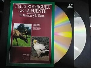 Felix-Rodriguez-Of-Power-the-Man-Y-La-Earth-Laser-Disc-Deer-Y-Vultures