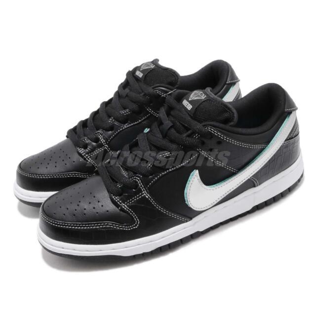 hot sale online 8a898 3f881 Diamond Supply Co X Nike SB Dunk Low Pro OG QS Skateboarding Shoes  BV1310-001