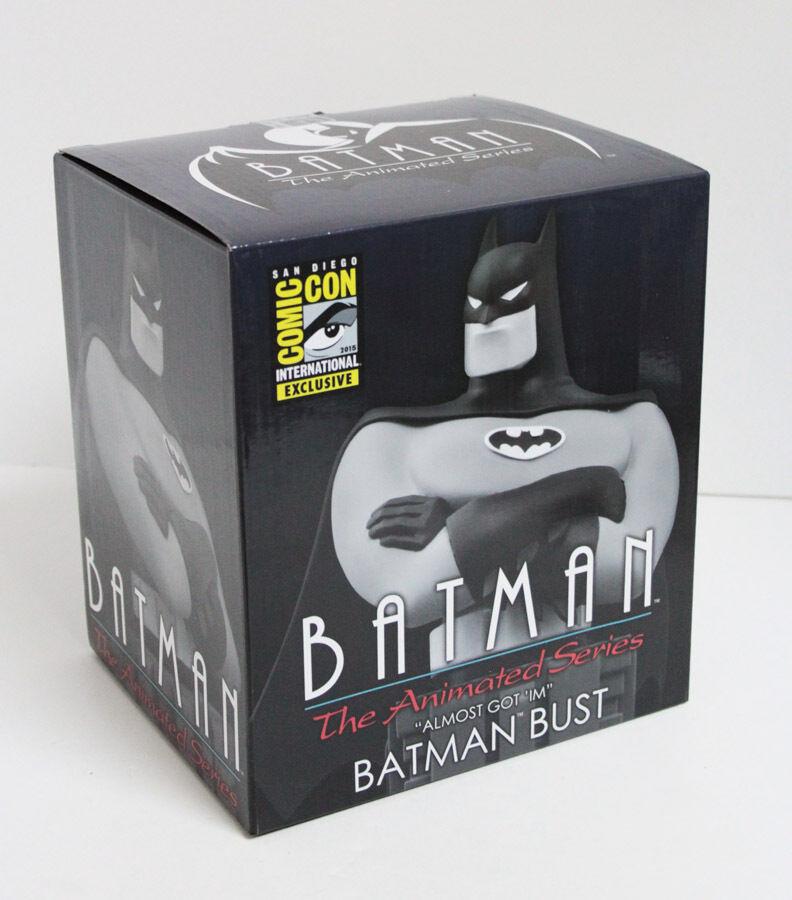 SDCC 2015 Comic Con Batman Animated B&W B&W B&W Limited Edition Statue Bust Figure NIB 9d283b