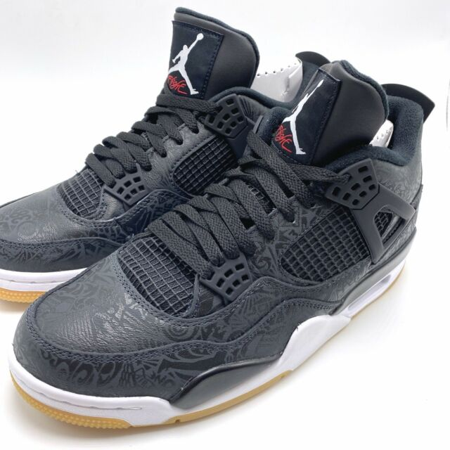 Nike Air Jordan 4 Retro Mens Basketball Trainers Sneakers Shoes Size 10.5