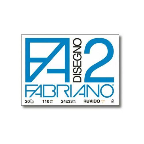 ALBUM FABRIANO F2 C//ANGOLI 20 FOGLI 24x33cm-RUVIDO