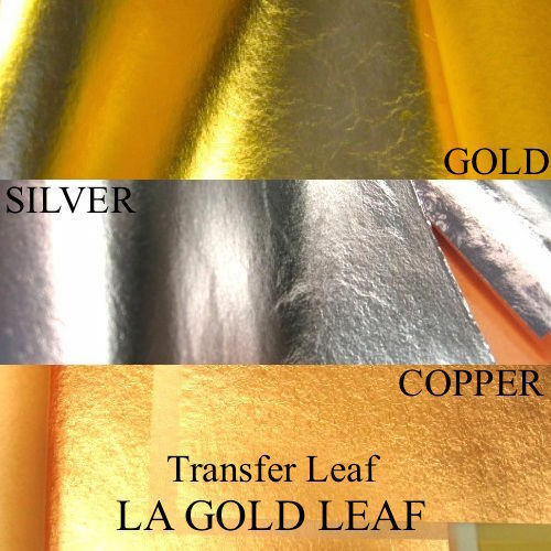 IMITATION GOLD//SILVER L.A GENUINE COPPER LEAF TRANSFER BULK SALE ! GOLD LEAF