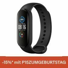 "Xiaomi Mi Band 5 Intelligent Armband 1.1"" Screen BT5.0 Fitness Tracker Schwarz"