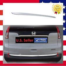 US FIT 12-17 HONDA CRV CR-V CHROME REAR TRUNK BOOT TAILGATE DOOR COVER TRIM