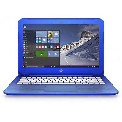 "HP Stream 13-C102NA 13.3"" Student Laptop Intel Dual Core N2840 2GB RAM 32GB eMMC"