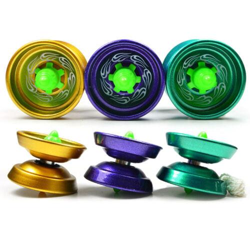 Cool Aluminum Design Professional YoYo Ball Bearing String Trick Alloy Kid Td