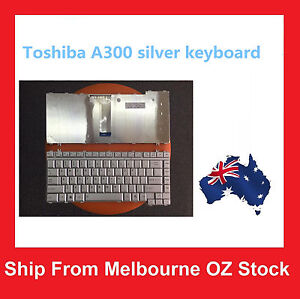 Toshiba-Satellite-A300-A305-L300-M200-M300-A200-A205-A215-M200-Keyboard-Sliver