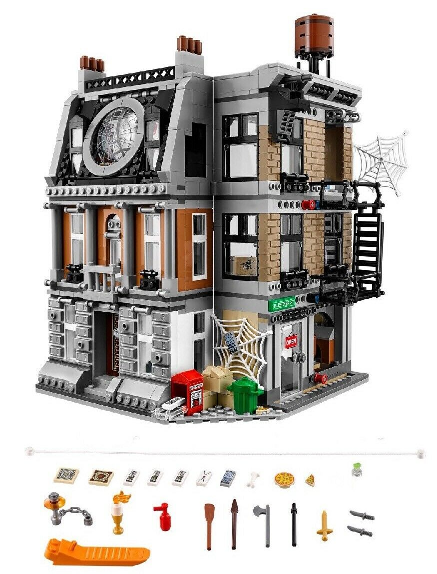 LEGO Avengers Infinity War SANCTUM SANCTORUM ONLY 76108 - No Minifigs Box