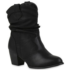Artikel 1 Cowboy Boots Damen Holzoptikabsatz Western Stiefeletten 812979  Schuhe -Cowboy Boots Damen Holzoptikabsatz Western Stiefeletten 812979  Schuhe 44115c5922