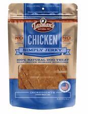Tasman's Natural Pet Chicken Simply Jerky Dog Treats 3.25 oz. Made in USA