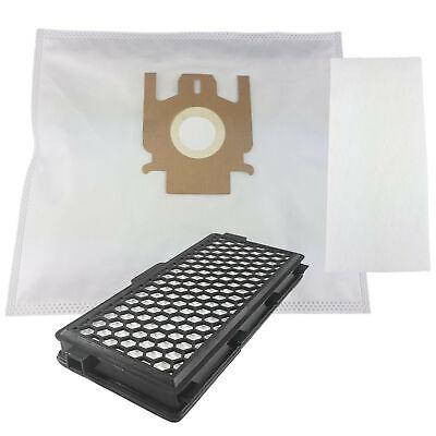 1 hepafilter Convient pour Miele s8 Parquet Special 10 sacs pour aspirateur