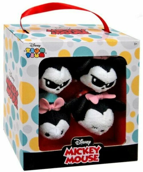 2 Disney Tsum Tsum Mickey Mouse Minnie 8 Plush Gift Set
