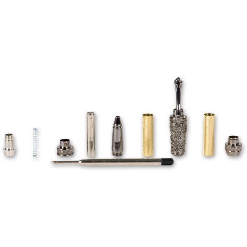 Victoriano Gun Metal Twist Pen Kit 101652