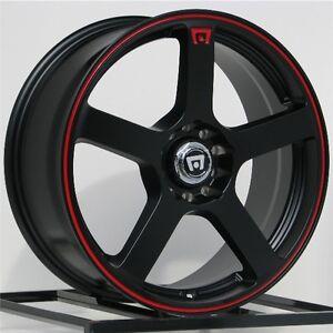 16 Inch Black Wheels Rims Chevy Cobalt Honda Civic Fit Accord 4 Lug Scion Xb New Ebay