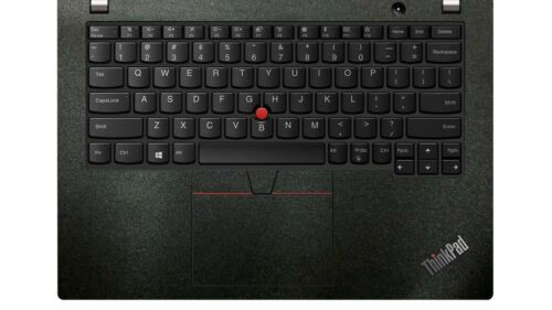 2-pack Matte Black Palmrest Sticker for Lenovo thinkpad X250 X260 X270 X390 X395