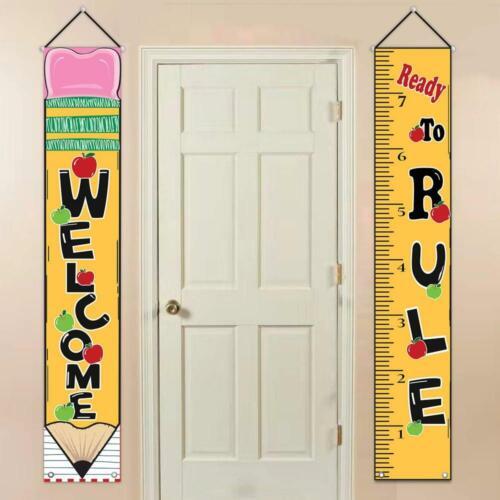 School Welcome Sign Wall Decor Ready To Rule Classroom Teacher Preschool New