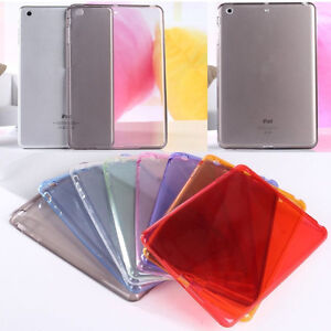 Clear-Soft-Rubber-TPU-Shockproof-Crystal-Skin-Case-Cover-For-Apple-iPad-9-7-2018