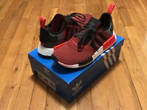 Details about ADIDAS ORIGINALS NMD R1 CIRCA KNIT LUSH RED S79158 SIZE 10