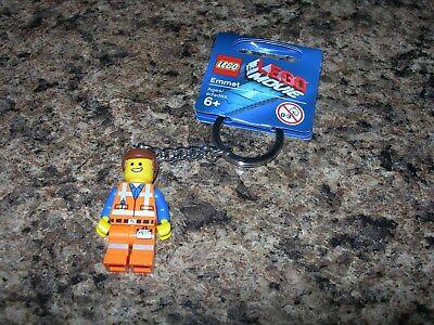 Emmet 850894 NEW FreeShip LEGO Movie Minifigure Keychain Key Chain
