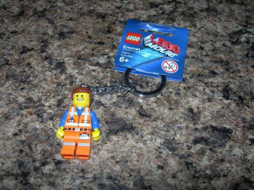 NEW LEGO Movie Minifigure Keychain EMMET minifig key chain TAG 850894 Emmett
