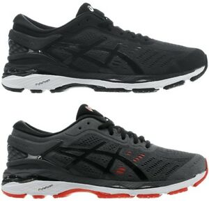 Details about Asics GEL-Kayano 24 black / gray Men's Running shoes fitness  sports Sneakers NEW