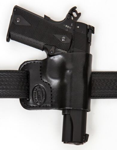 Small of Back Leather Gun Holster LH RH For S&W 5904 5906
