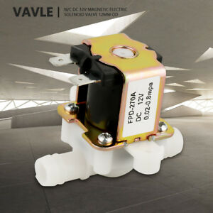 NEW-OD12mm-Inlet-Electromagnetic-Valve-Normally-Closed-Water-Flow-Switch-DC12V