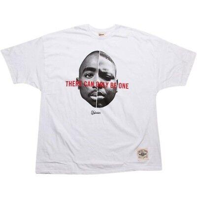 Undrcrwn Biggie Smalls Tupac Men's White T Shirt 09049w Activewear Tops