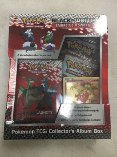 Pokemon Black And White Emerging Powers Collectors Album Box For Card Game