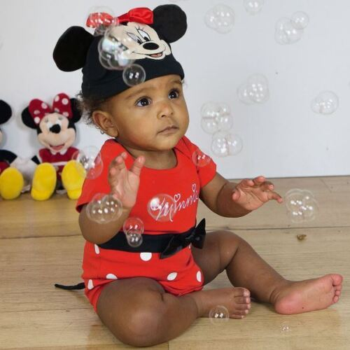 Disney Baby Minnie Mouse Bodysuit Vest Toddler Babies Costume Outfit