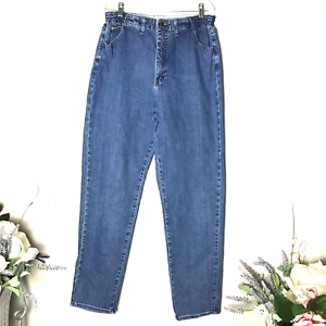 Lee Women's Side Elastic At The Waist Mom Jeans SZ 32