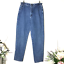 thumbnail 1 - Lee Women's Side Elastic At The Waist Mom Jeans SZ 32
