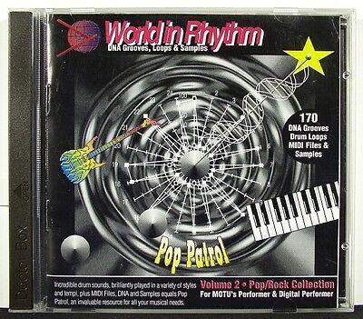 World in Rhythm Pop Patrol Vol2 MOTU - Samples & Loops