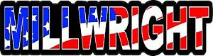 3-Millwright-US-Flag-Lunch-Box-Hard-Hat-Tool-Box-Helmet-Sticker-H153