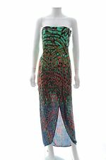 BCBG Max Azria 'Jesse' Draped Printed Strapless Gown / Multi / RRP: £300.00