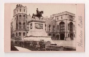 Vintage-CDV-Windsor-Castle-English-Royal-Palace-Dolamore-amp-Bulock-Photo