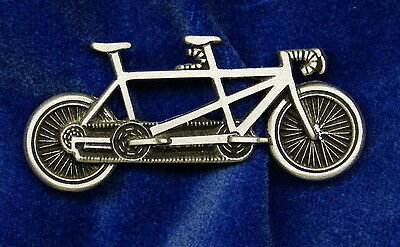Empire Pewter Tandem Bicycle Pin