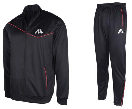 MODEL Branded Mens Sports Tracksuit Funnel Neck Long Sleeve