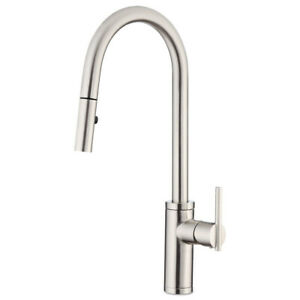 Danze Parma Cafe 1 75 Gpm Single Handle Pull Down Kitchen Faucet D454058ss New Ebay