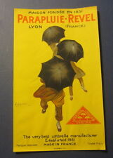 PARAPLUIE ART FREE SHIPPING  #AP610    RC41 T POSTER REVEL by CAPPIELLO