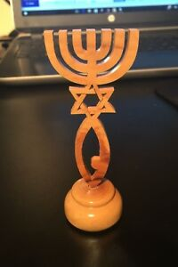 Israel-olive-wood-Grafted-In-Messianic-Seal-Star-David-Menorah-Holy-Land-4-034