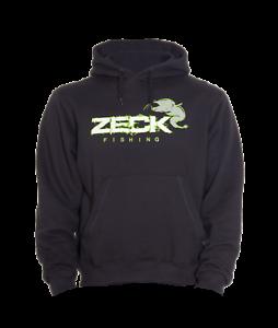 Zeck Hoodie Black Kapuzenpullover JackeAngelbekleidung Wallerangeln Welsangeln