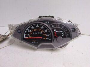 Suzuki-FL125-Fl-125-Address-07-10-Clocks-Speed-Assembly-24718-Miles-PARTS-ONLY