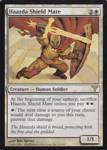 Haazda Shield Mate Magic the Gathering MTG Dissension Foil 1x Foil