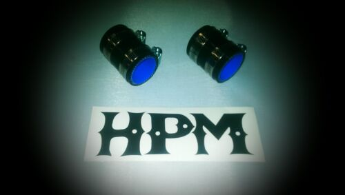 """HPM 5 Ply /"""" BLACK /"""" 85 and 86 LT250R LT250 Exhaust Couplers"""